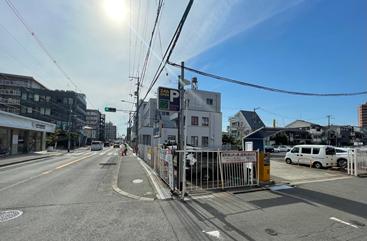 第二専用駐車場3台(安全モータープール)